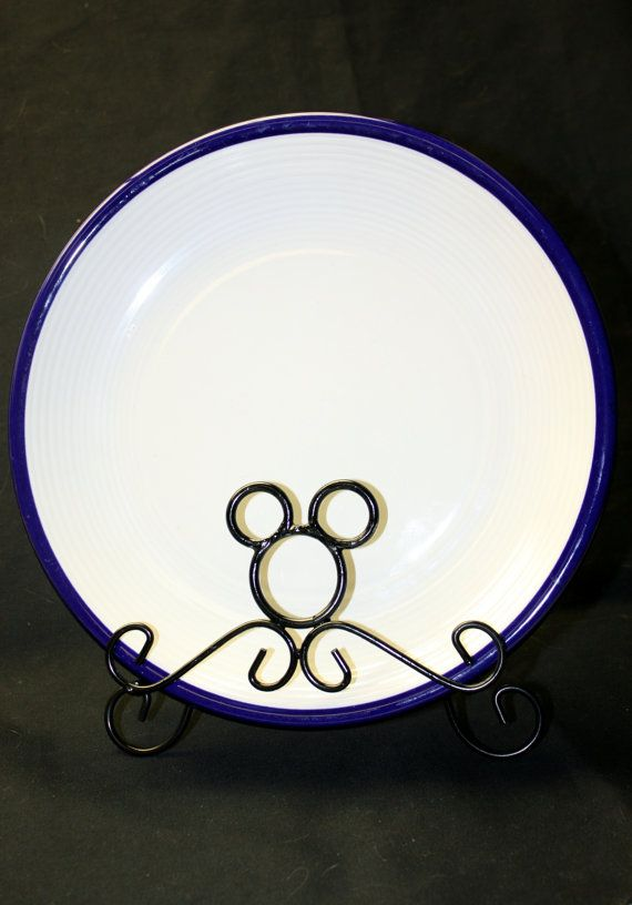 MICKEY MOUSE Icon Plate Holder Display Holiday & MICKEY MOUSE Icon Plate Holder Display Holiday | mickey\u0027s kitchen ...