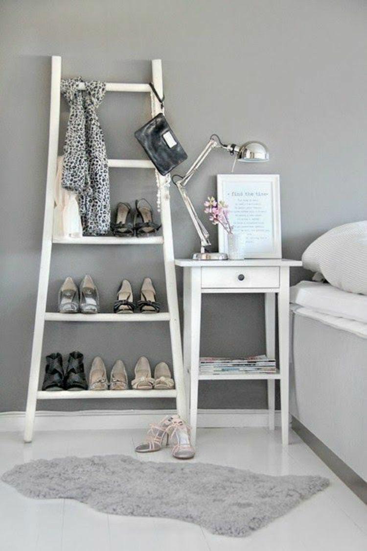 diy projekte mit holzleiter 20 inspirierende bilder und. Black Bedroom Furniture Sets. Home Design Ideas