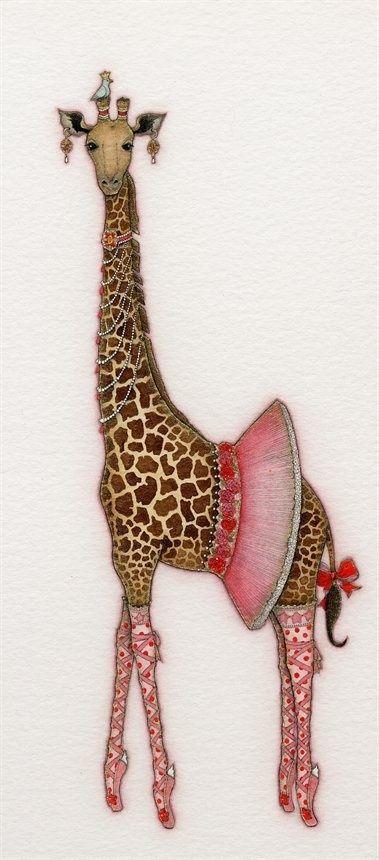 giraffe dancer