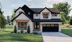 Modern farmhouse House Plan 5 Bedrooms 4 Bath 3124 Sq Ft Plan 52 481