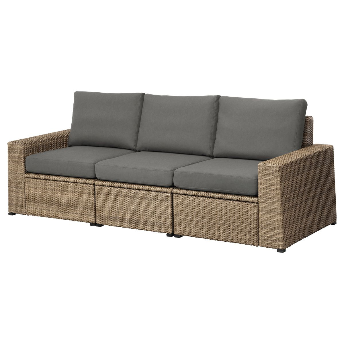 Quelle Sofa sollerön 3er sofa außen braun dunkelgrau jetzt bestellen unter
