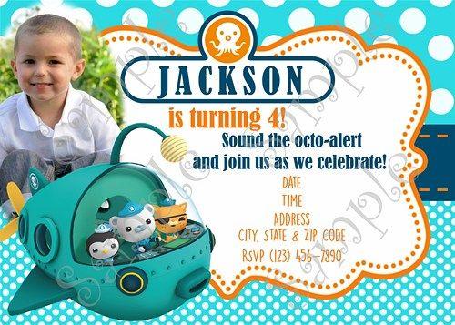Octonauts Invitation Octonauts Birthday Free Thank You Card Octonauts Birthday Octonauts Birthday Party Adventure Birthday Party
