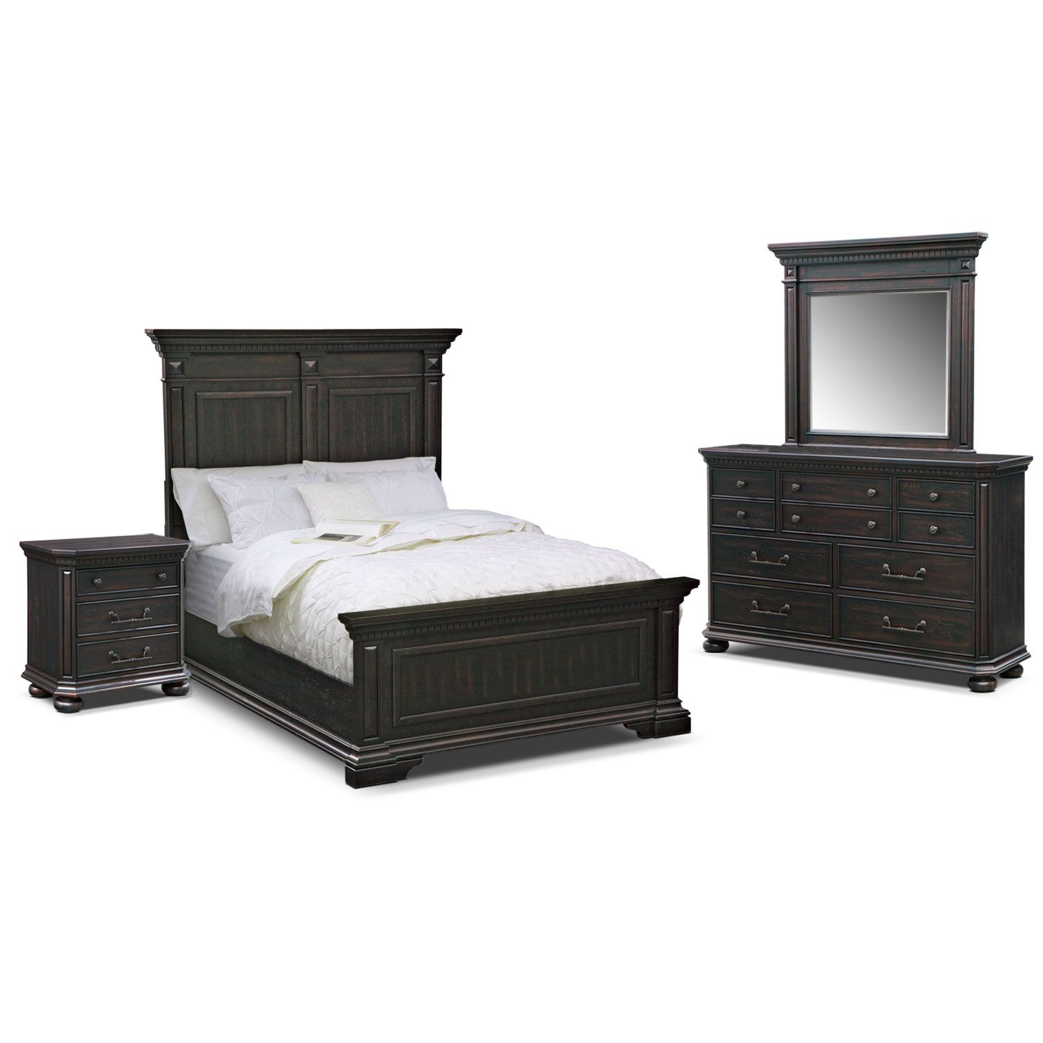 Bedroom Furniture Newcastle 6 Pc King Bedroom Beds