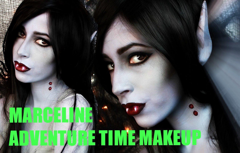 Easy Halloween Makeup Marceline V&ire Makeup Tutorial #iwanted2c1video  sc 1 st  Pinterest & Easy Halloween Makeup: Marceline Vampire Makeup Tutorial ...