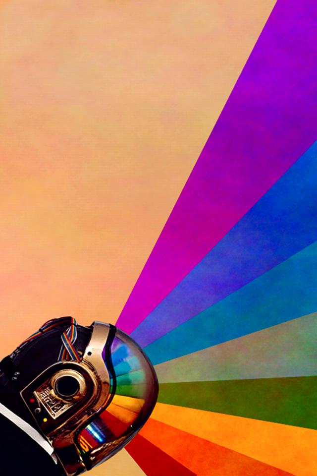 Pin von Maria Conrad auf Rainbow & Multicolor Daft punk