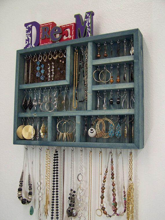 Dorm Room Jewelry Organizer Dorm room Dorm and Storage ideas
