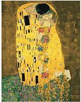 Картина по номерам. «Поцелуй» Густав Климт без коробки ...