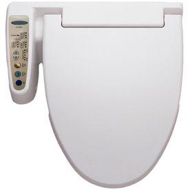Hometech Feel Fresh Plastic Round Slow Close Heated Bidet Toilet Seat Lowes Com Bidet Toilet Bidet Toilet Seat