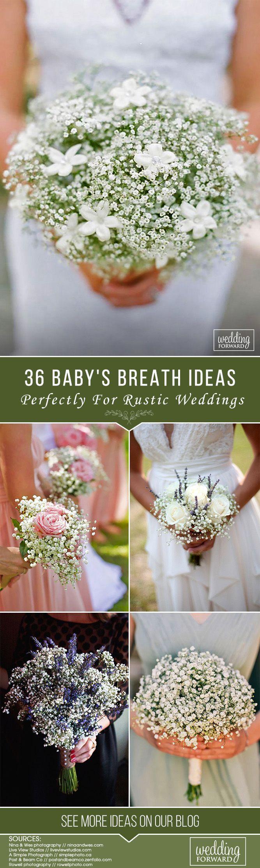 Baby S Breath Wedding Ideas For Rustic Weddings Wedding Forward Rustic Wedding Rustic Spring Wedding Babys Breath Wedding