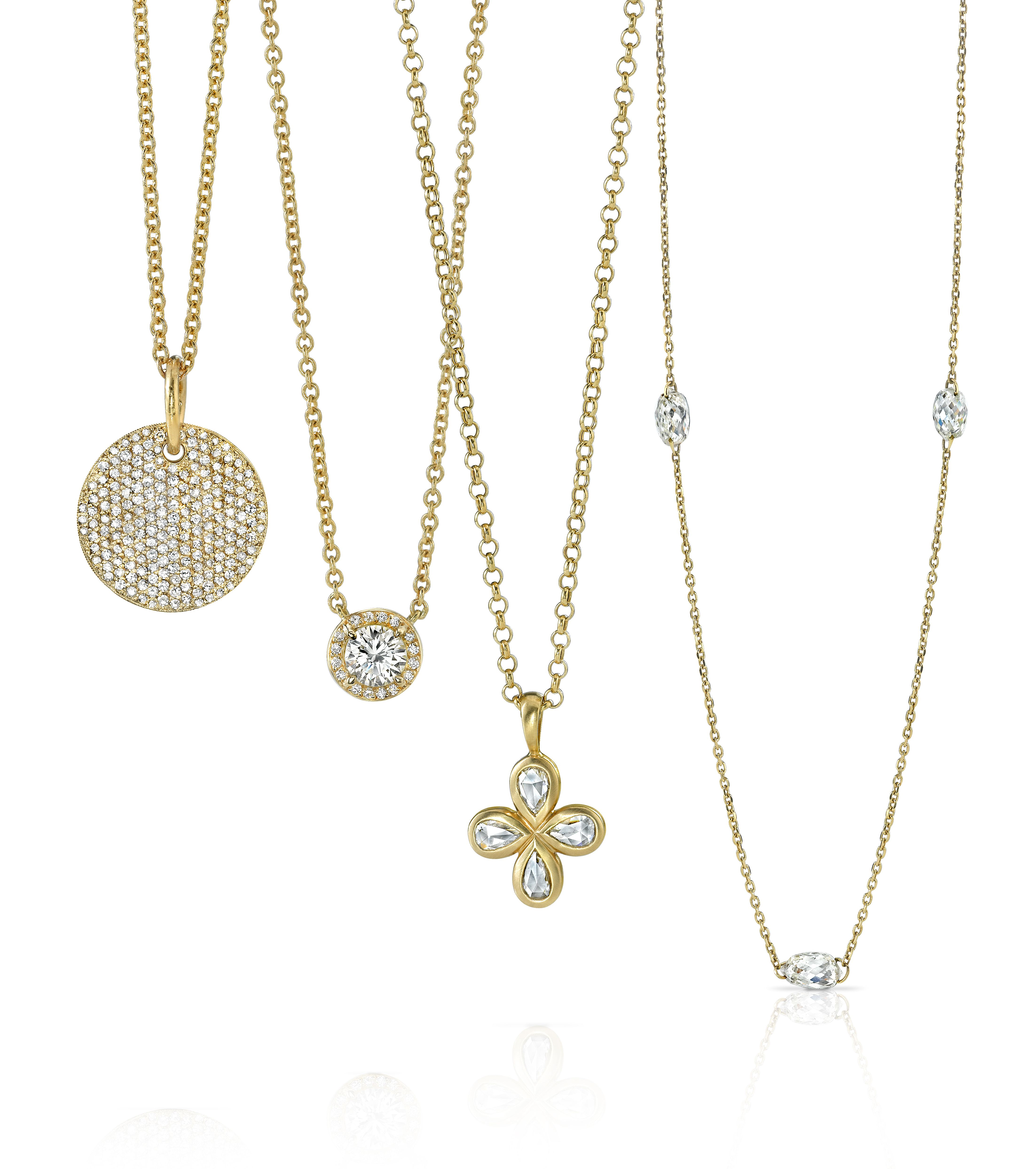 These Single Stone necklaces are perfect for layering! Dress them up or dress them down! www.singlestone.com