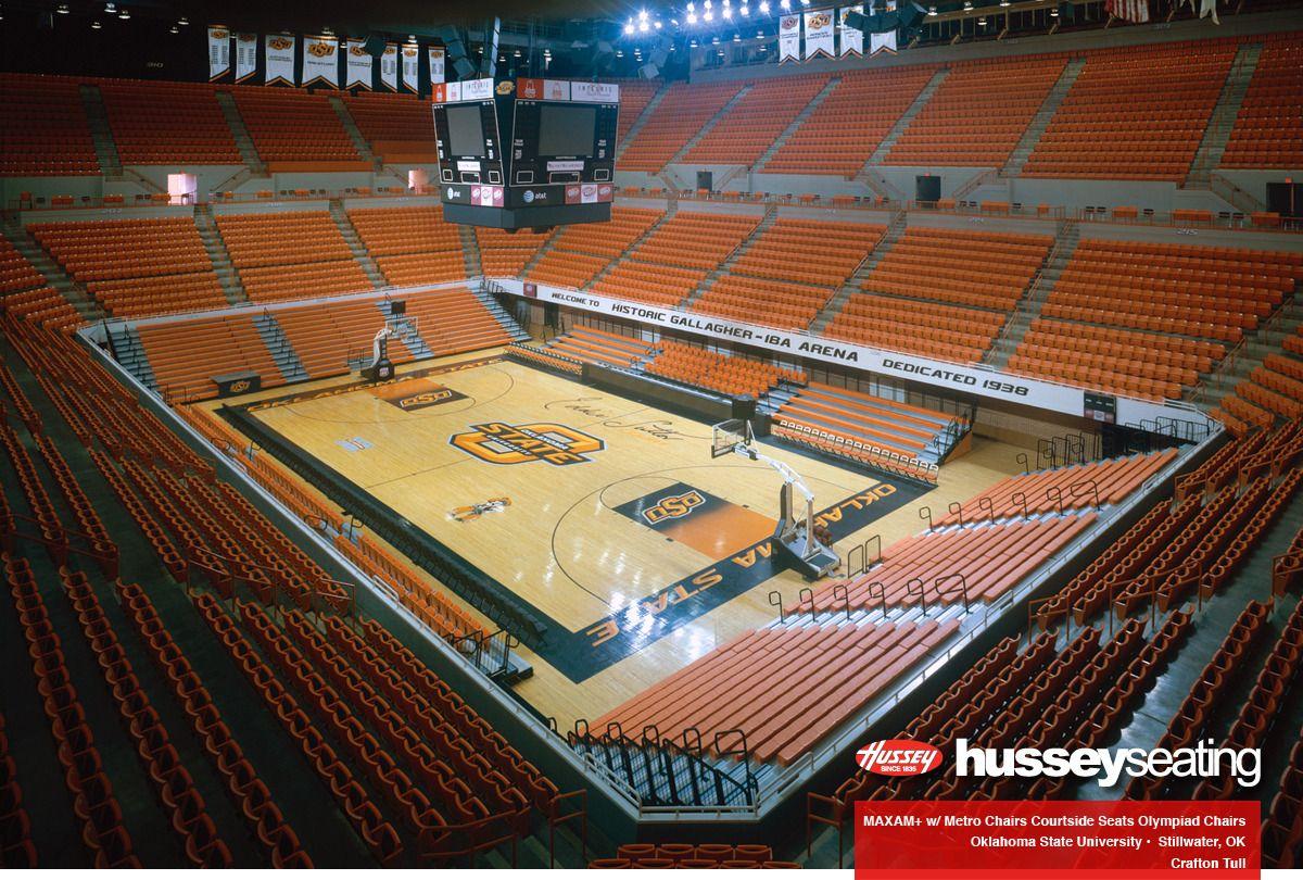 Gallagher Iba Arena Osu Maxam Telescopic Platform Photos Hussey Seating Sports Arena Osu College Basketball