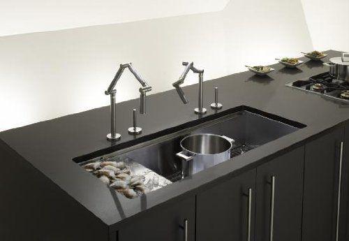 PLUMBING :: interesting oversized under mount sink by Kohler ...