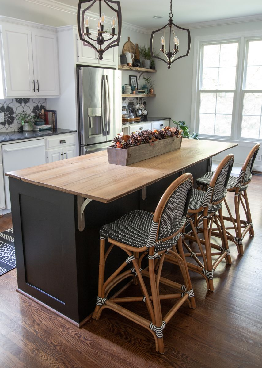 the one thing you need for a beautiful centerpiece for every season a diy wooden trough with on kitchen island ideas organization id=21236