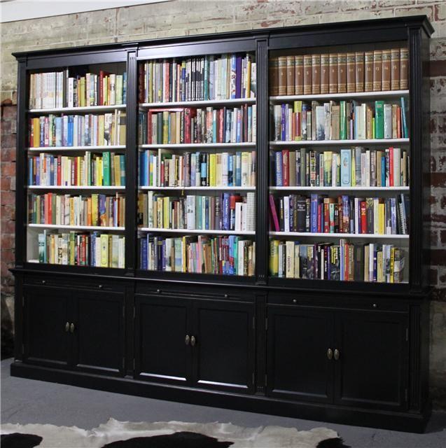 Landelijke Boekenkast 3 meter breed ook met ladder   kitaplık ...