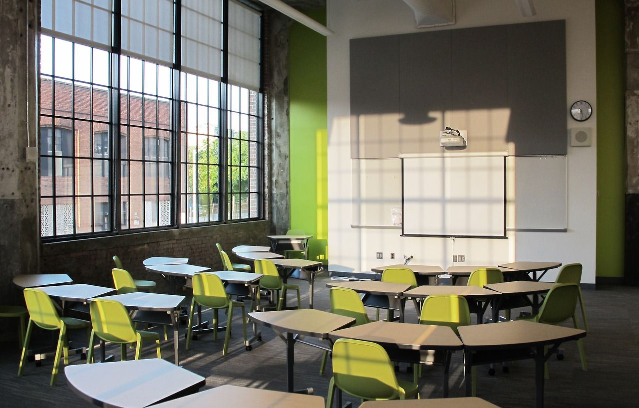 Emeco Broom Stacking Chairs The New Baltimore Design School Perfect For Classroom Applications