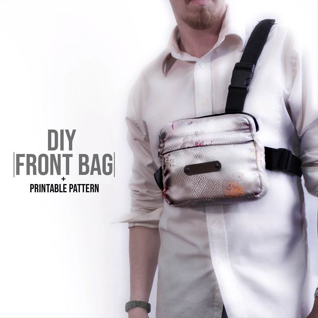 da38a3f5743e Official Chest Bag DIY + Pattern Click the link to download the ...