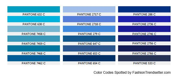 Accessories Color Trends For Autumn/Winter Blue Moon