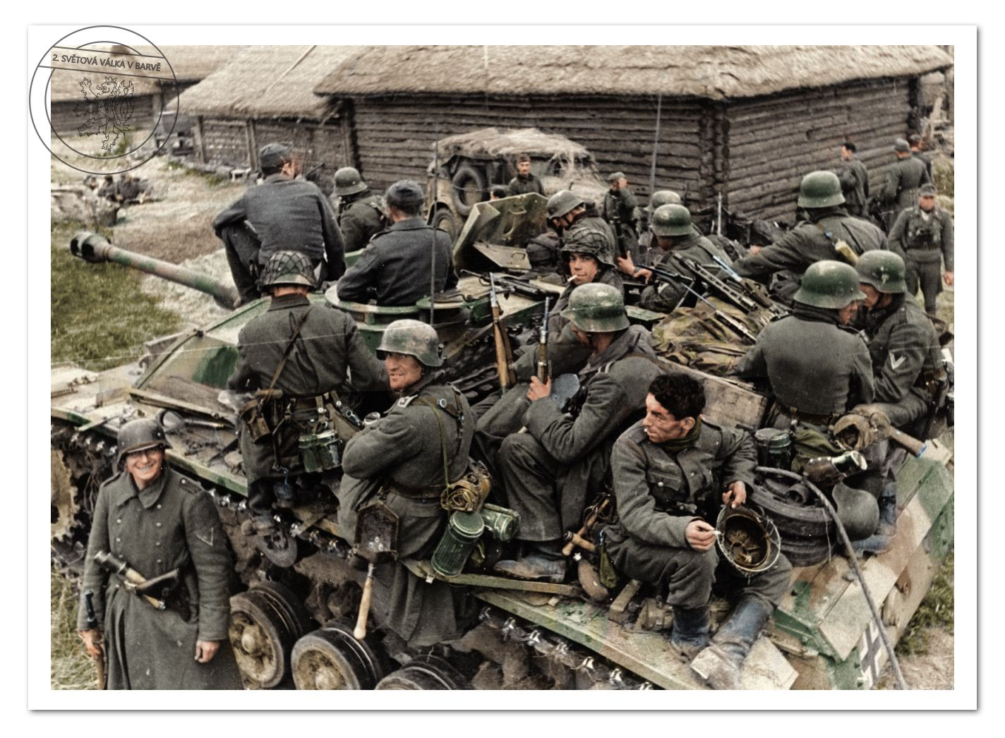 Pin On My Authored Colorized Ww2 Photos
