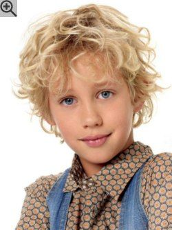 haircut for boys with curly hair with layers and styled