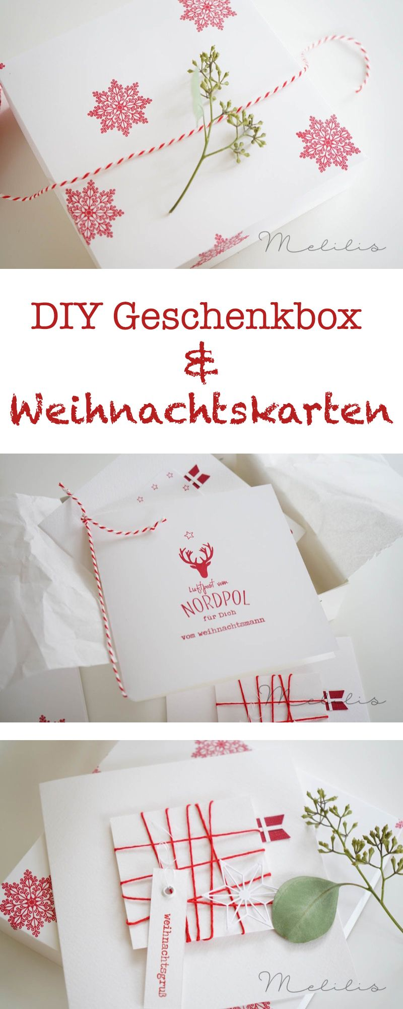 Schnelle Geschenkverpackung für Weihnachtskarten | Charlie und ...