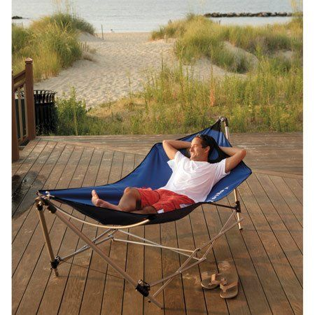 Kelsyus Portable Hammock Xl Blue Want Pinterest