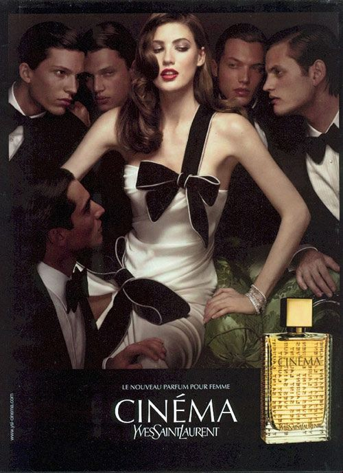 Yves Saint Laurent Cinema Couture In 2019 Ysl Cinema Saint