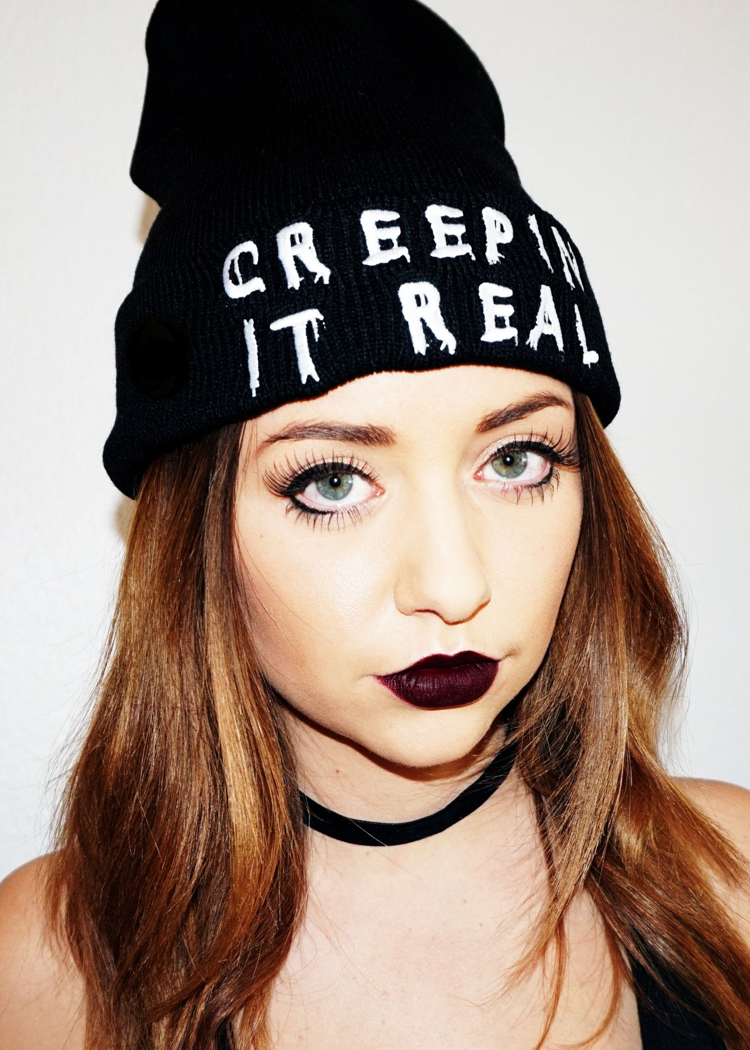 Creepin It Real Beanie (SOLD OUT)  e0405f0be44
