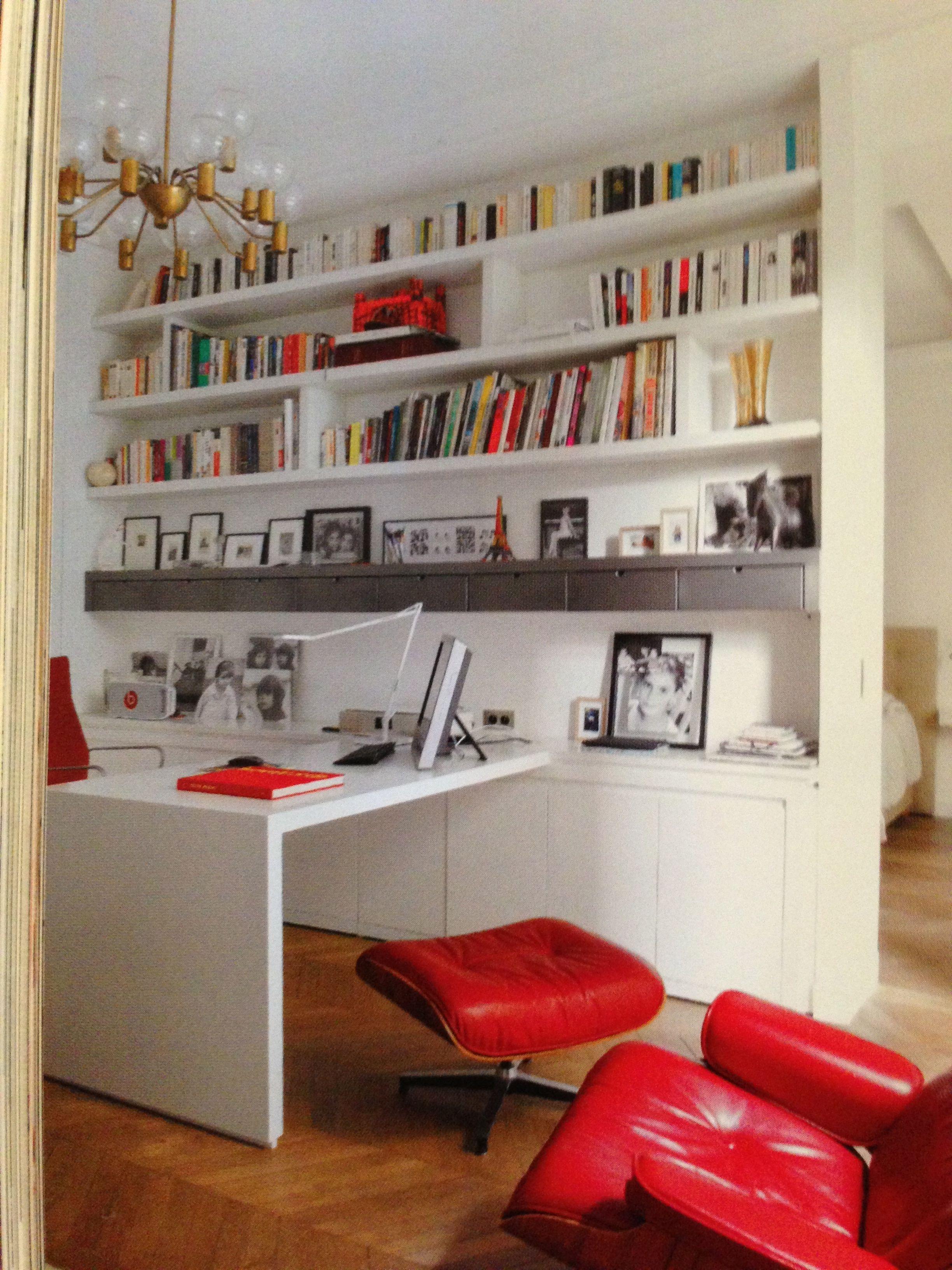 Appartement en rez de jardin une r novation r ussie paris x bureau home office design - Rez de jardin paris ...