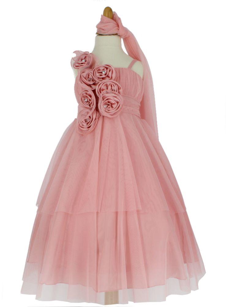 24a0023923d71 Robe enfant pour mariage cérémonie fille modèle Victoria b4134 ...