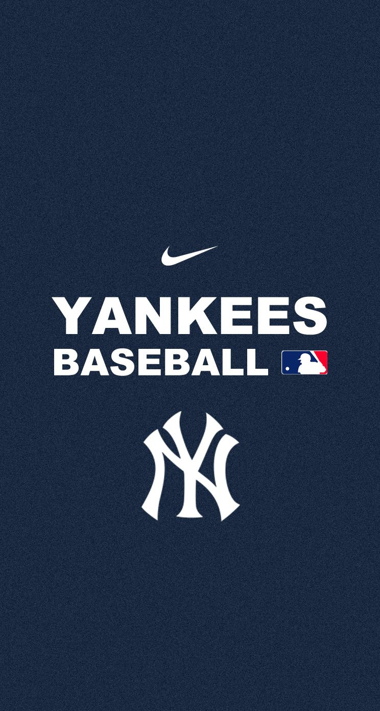 Ny Yankees Iphone Wallpaper Wallpapersafari New York Yankees Logo New York Yankees Baseball Wallpaper