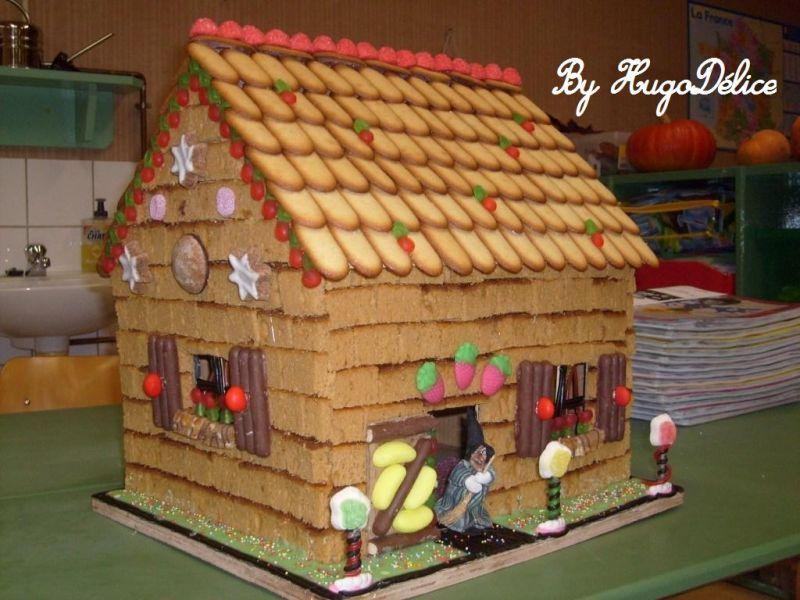 La maison en pain d epice projet halloween pinterest - Kit maison en pain d epice ...