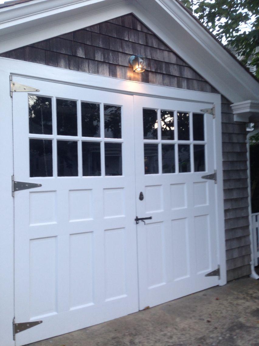 Garage door windows that open  Garage doors  OUTSIDE  Pinterest  Garage doors Doors and Car garage