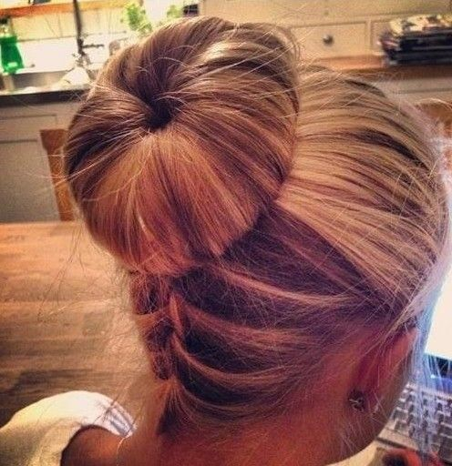 Prime 1000 Images About Buns On Pinterest Bun Hairstyles Braided Bun Hairstyles For Men Maxibearus