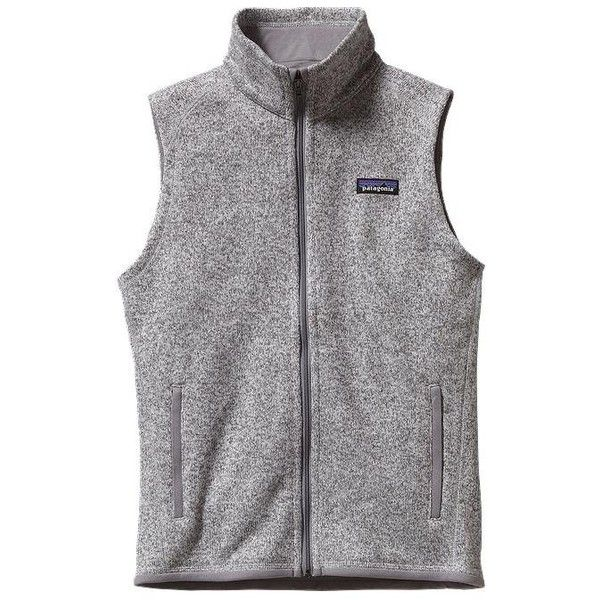 Patagonia Women's Better Sweater Fleece Vest ($99) ❤ liked on ...
