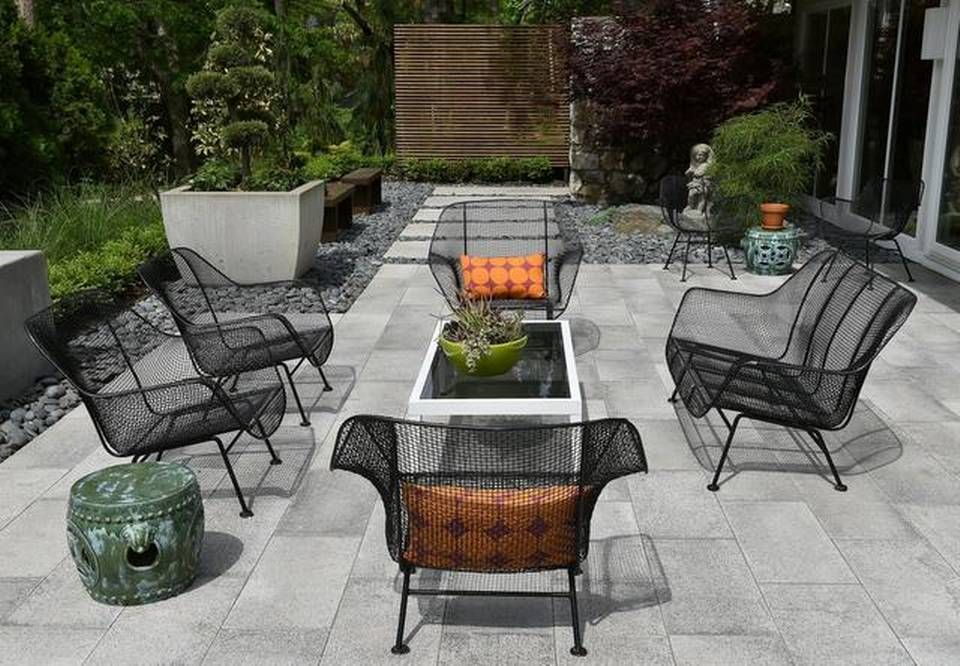 Vintage Wrought Iron Patio Furniture For Sale   Google Search