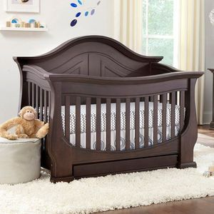 Eco Chic Baby Dorchester 4-in-1 Convertible Crib with ...