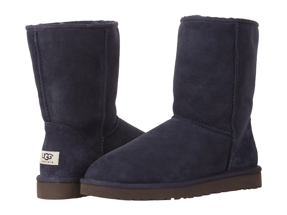 UGG Classic Short Men's Pull-on Boots Navy