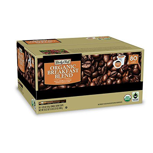 Daily Chef Organic Breakfast Blend Coffee 80 Single Serve Coffee Pods Details Can Be Found By Clic Organic Breakfast Breakfast Blend Coffee Breakfast Blend