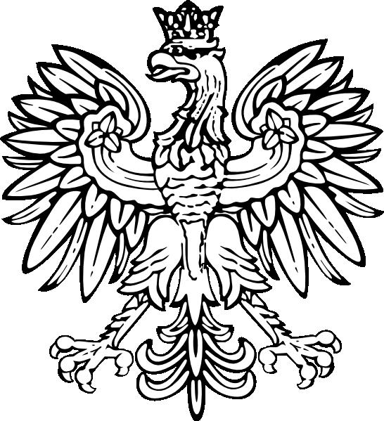 Poland Designs Polish Eagle Clip Art Vector Clip Art Online