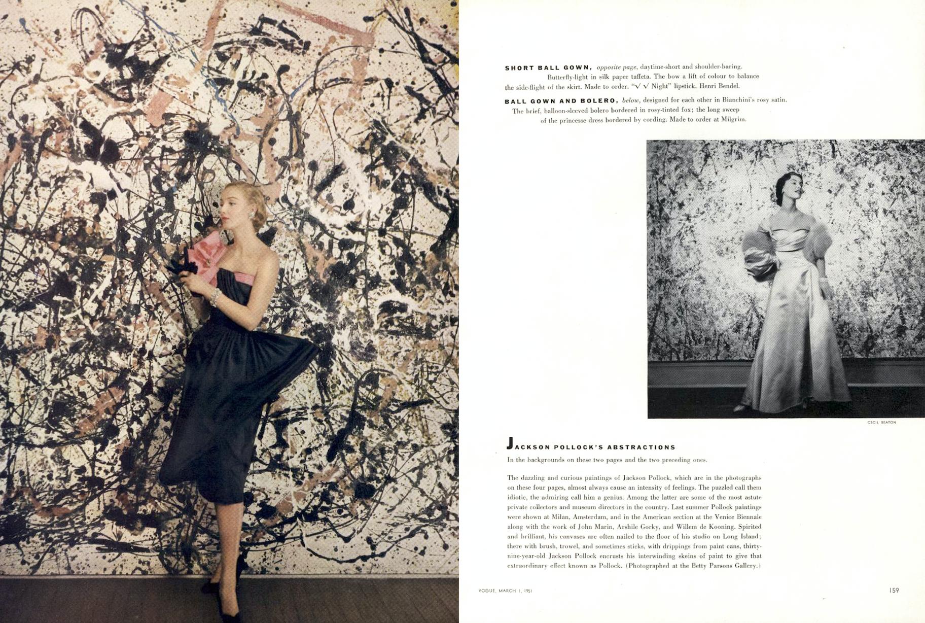 Resultado De Imagem Para Vogue Pollock Cecil Beaton