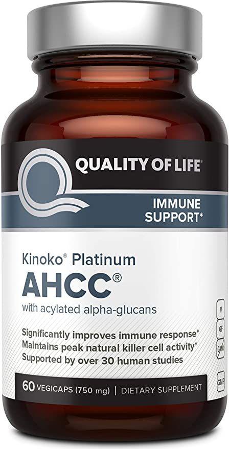 Amazon.com: Premium Kinoko Platinum AHCC Supplement ...
