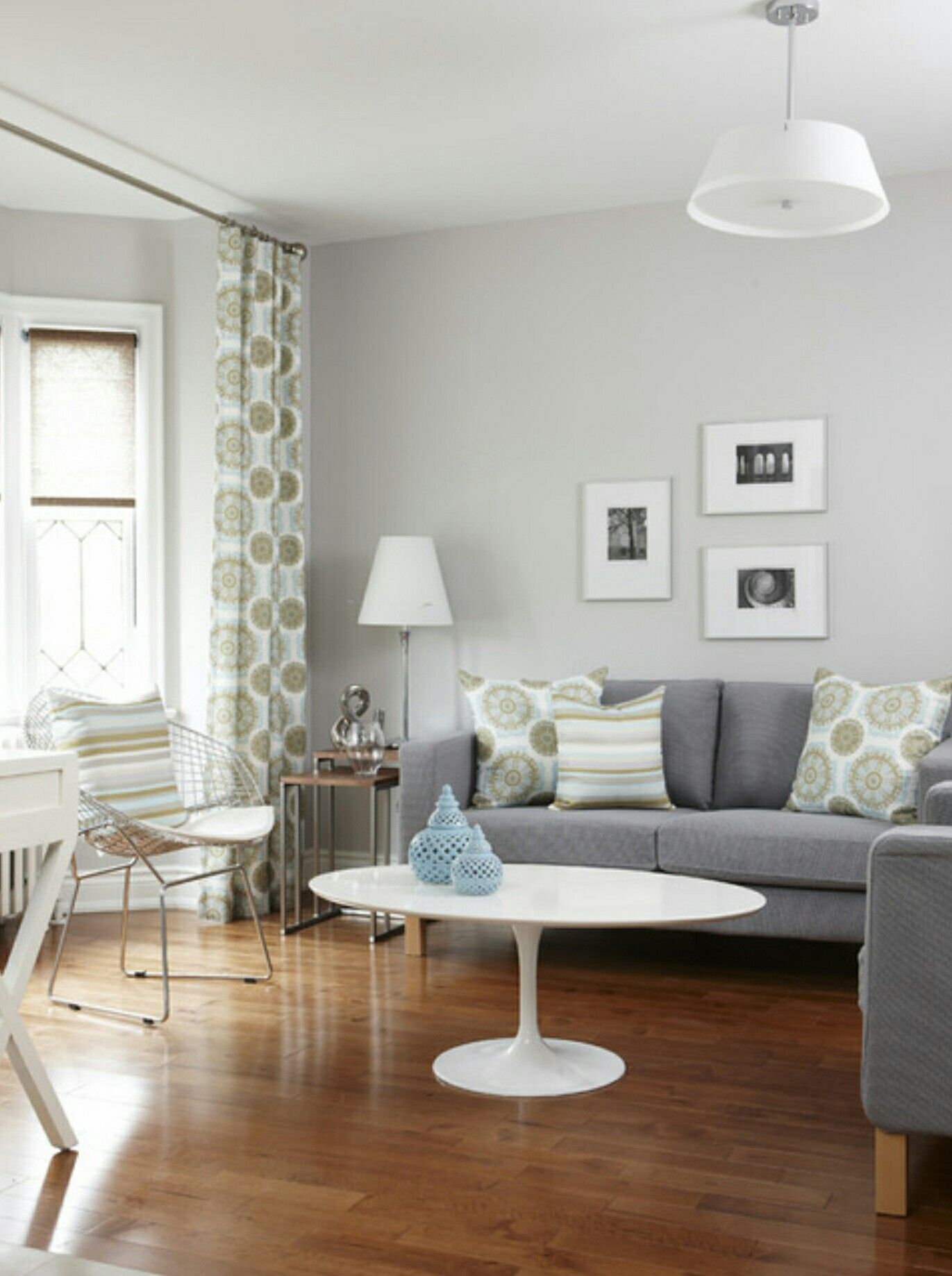 Pale grey walls for the living room? | Home Inspiration | Pinterest ...