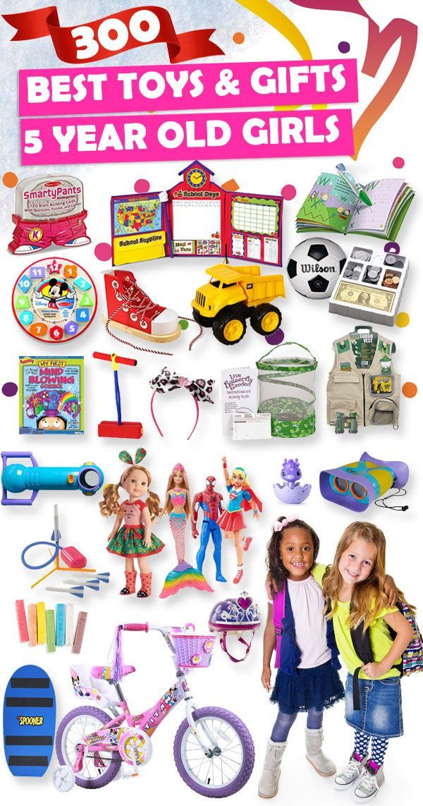 Tons Of Great Gift Ideas For 5 Year Old Girls