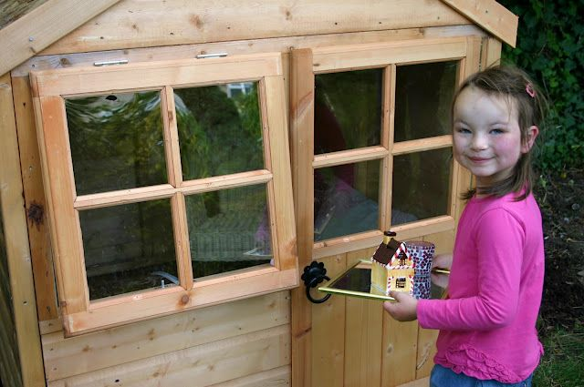 Awesome story of a little girl's dream of owning a playhouse | And Here We Are...: A Childhood Milestone: Moving Into the Playhouse.