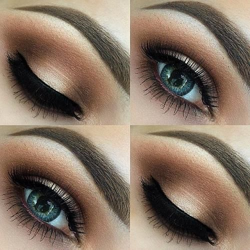 10 Pretty Eye Makeup Ideas | Makeup ideas and Brown eyes