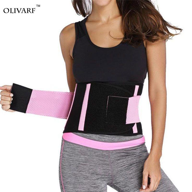 af271982e hot shapers women slimming body shaper waist Belt girdles Firm Control  Waist trainer corsets plus size