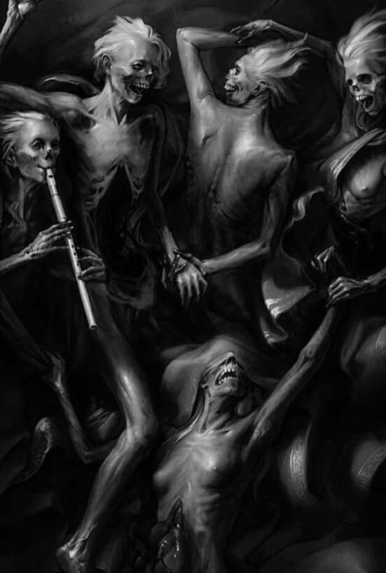 Fantasy Art Beautiful Horror