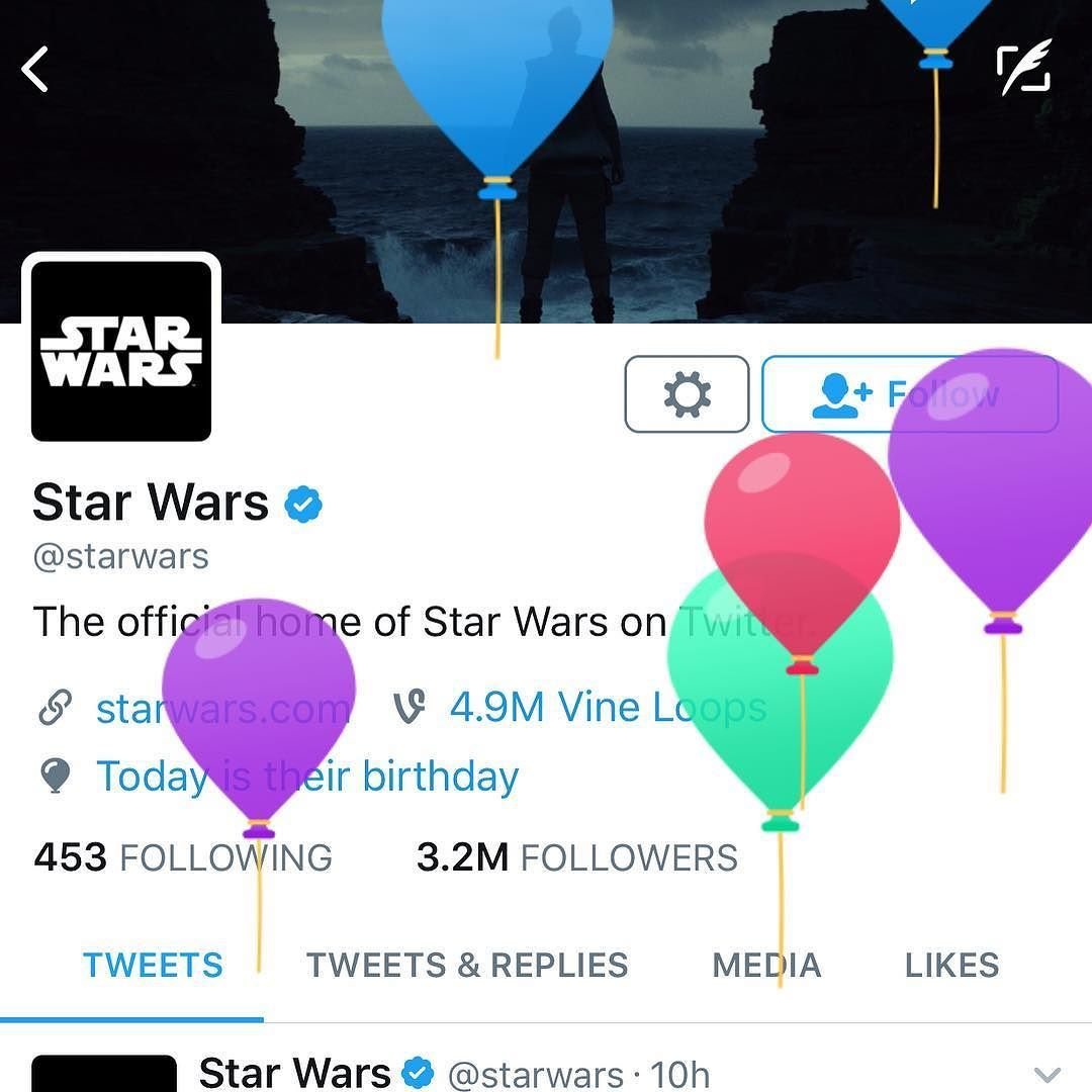 Happy 40th Birthday @StarWars!!!! #StarWars40th