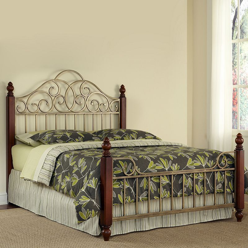 St Ives 3 Pc Queen Headboard Footboard And Frame Set Red California King Headboard Home