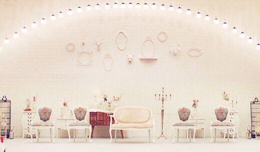 White centerstage